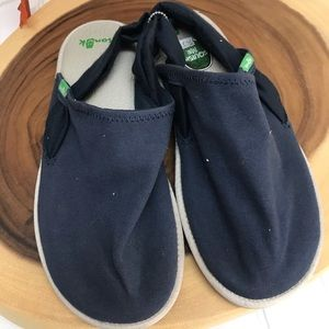 Sanuk Made From Yoga Mats Canvas Slip Ons